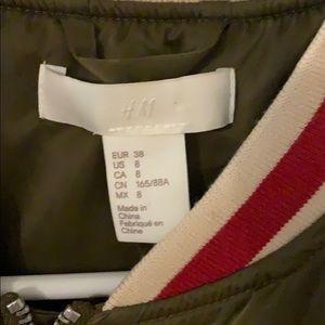 H&M Jackets & Coats - Satin baseball jacket